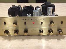 Fisher KX 200 Stereo Tube Integrated Amp 7591 Telefunken
