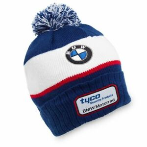 Tyco-BMW-Team-Beanie-Cap-Official-merchandise-with-manufacturers-tags