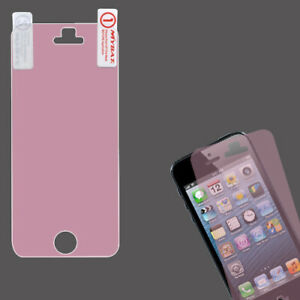 For Apple iPhone 5 5S LCD Screen Protector/Pink Phone Cover