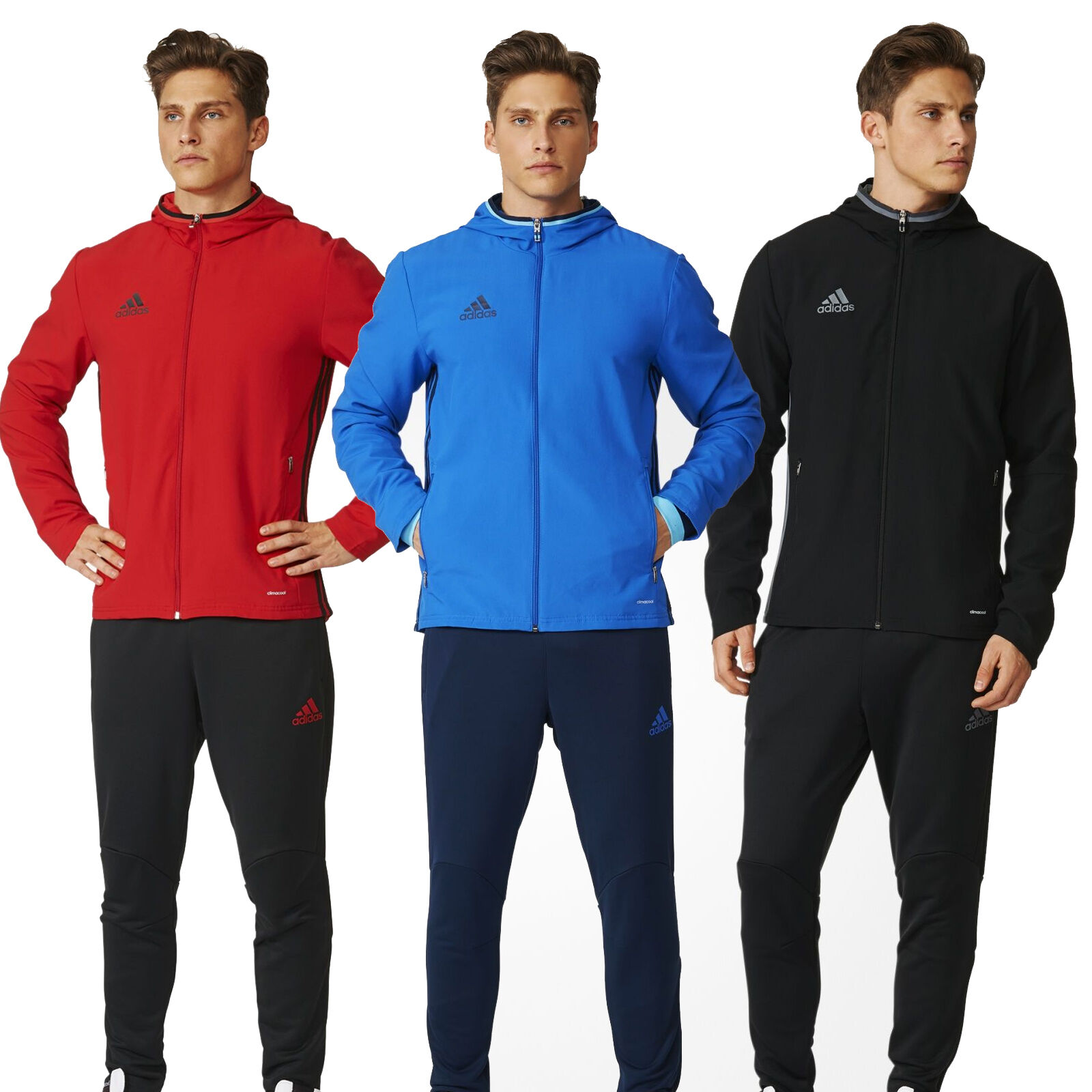 Adidas Condivo 16 SurvêteHommes t Présentation SurvêteHommes t Hommes Hommes t 3 Stripe Neuf 9d53e5