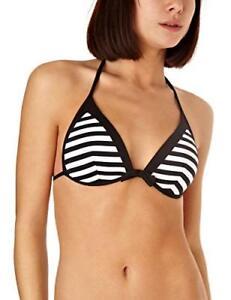 Por-Capricho-De-Lujo-Super-Suave-decorativa-a-rayas-Push-Up-Bikini-Top