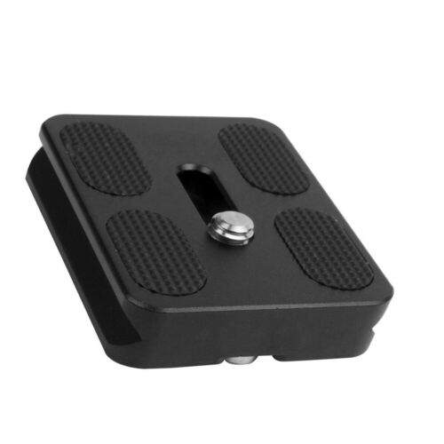 Quick Release Plate For Benro Tripod Ball Head Arca Swiss Compatible PU-50 Sj