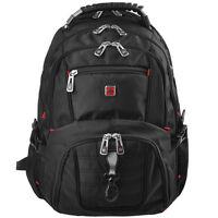 Women Men Swissgear Sports Travel Backpack Schoolbag Laptop Bag Rucksack Pack