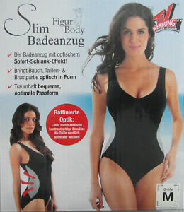 timeless design 05da8 05b63 Details zu Figur Body Slim Badeanzug Größe M Der badeanzug mit optischem  Schlank Effekt Neu