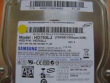750 GB Samsung HD753LJ / P/N: 468911CQ304892 / 2008.03 / BF41-00185B - Hard Disk