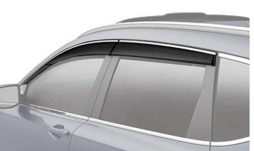 NEW GENUINE HONDA  CRV CR-V DOOR VISOR SET VENT VISORS 08R04-TLA-100