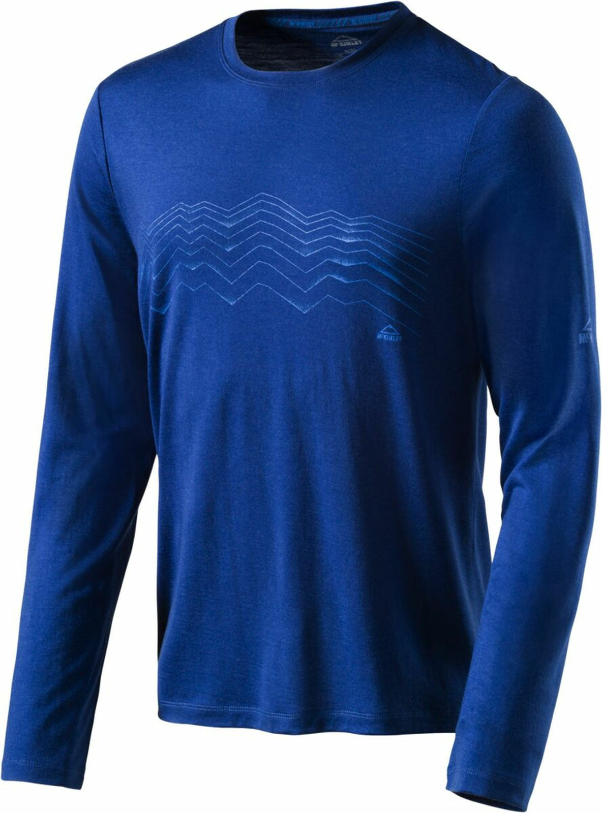 McKinley Men's Leisure Outdoor Hiking Long Sleeve  Shirt Kara from Wool bluee  large selection