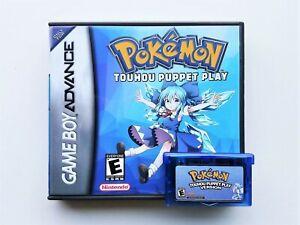Pokemon-Touhou-Puppet-Play-Game-boy-GBA-Touhoumon-Anime-Mod-USA-Seller