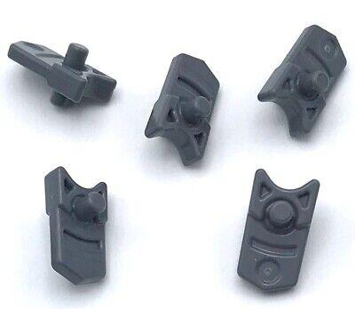 Lego 10 New Dark Stone Gray Projectile Launcher Trigger for Gun Mini Blaster