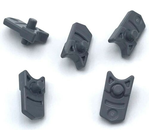 Lego 5 New Dark Bluish Gray Projectile Launcher Trigger for Gun Mini Blaster