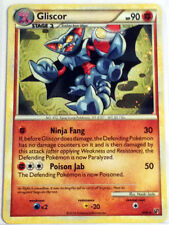 Pokemon Cards GLISCOR 4/90 HGSS UNDAUNTED SET HOLO RARE (E)