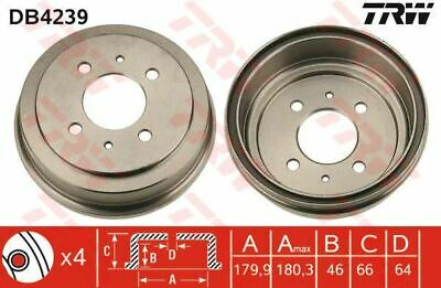 Genuine TRW Rear Brake Drum DB4398