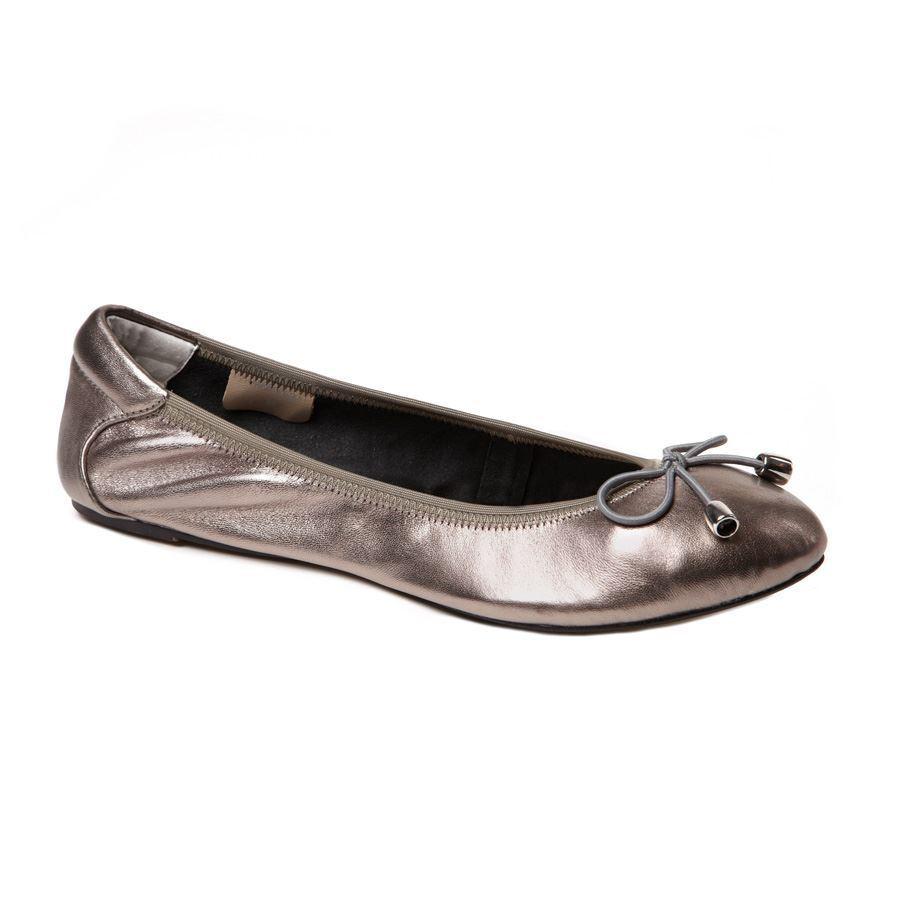 Cocorose Foldable Schuhes - - Sandringham - - Silver c02381