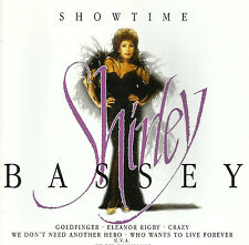 """Shirley Bassey """"Showtime"""" CD - 14 Super Songs !"""