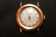 Vintage Wittnauer Military Style 14K Yellow Gold Watch 17j 10ES 31mm