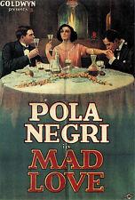 Sappho / Mad Love - 1921 - Pola Negri Buchowetzki - Vintage b/w Silent Film DVD