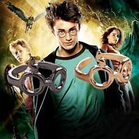 Gift Vintage Metal Silver Harry Potter Glasses Scar Lightning Adjustable Ring