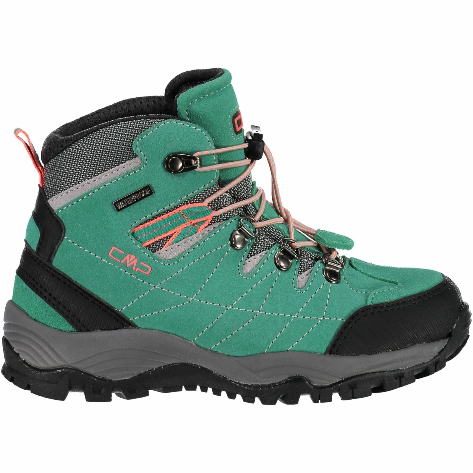 CMP trekking zapatos Al aire libreschuh Kids Arietis trekking  zapatos WP turquesa monocromo  a la venta