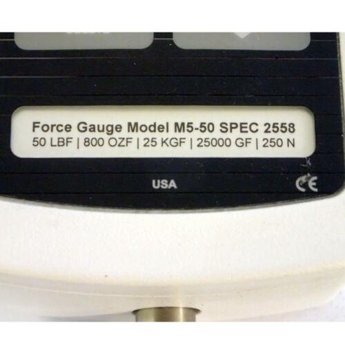 ADAPTER MARK-10 FORCE GAUGE M5-50 SPEC 2558 50 lbF//800 ozF//25 kgF//25000 gF//250N