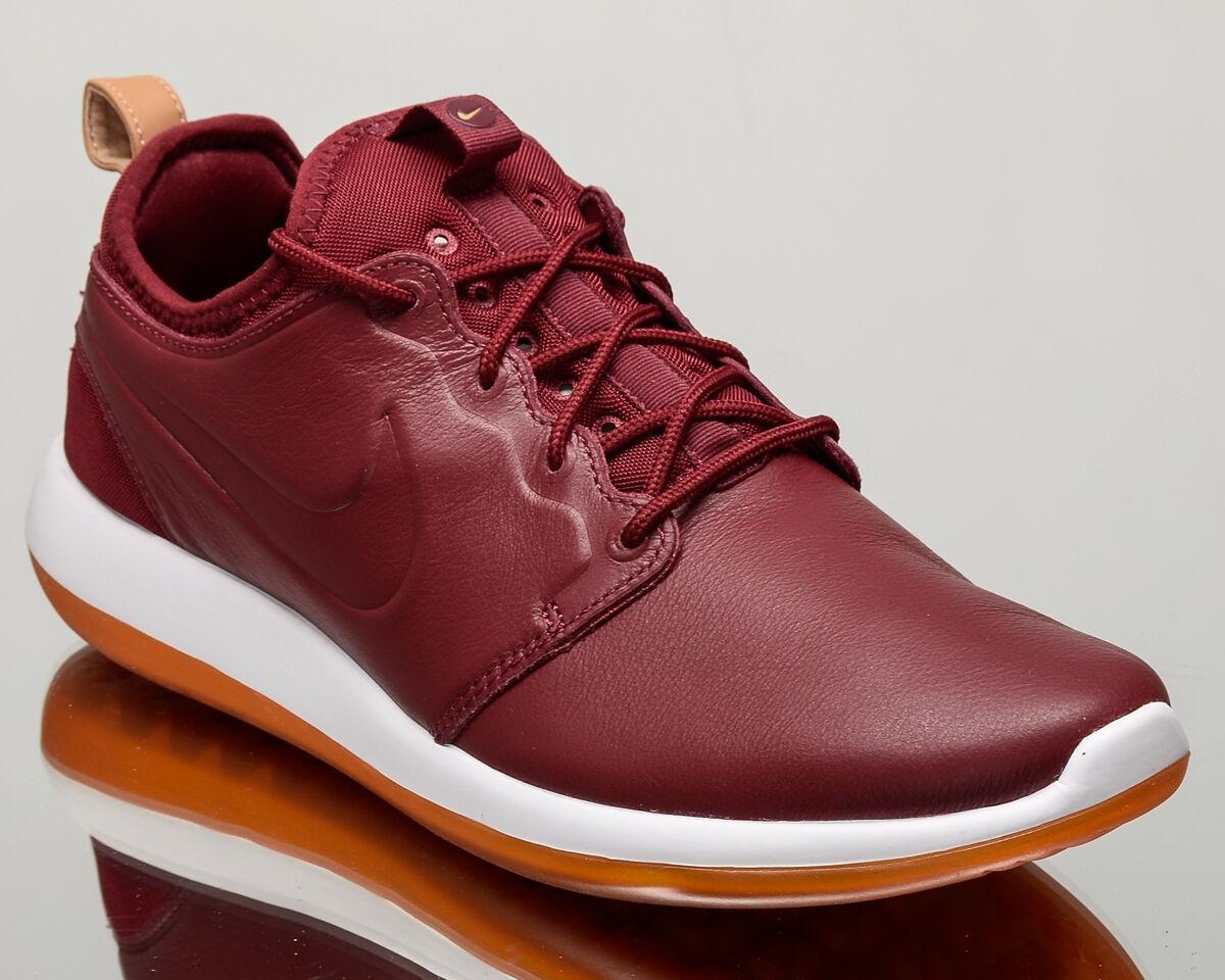 Nike roshe dos Cuero Premium Hombres 2 Hombres Premium Estilo De Vida Zapatillas Nuevo Equipo Rojo 881987600 930bdc