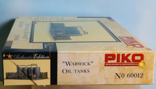// Oil Tanks Warwick Piko 60012 Spur N Bausatz Heizöltanks Kunststoff