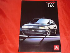 CITROEN BX Limousine + Break Classic Tecnic GTI 16V Prospekt von 1989