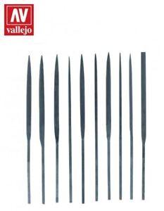 AV-Vallejo-Tools-10-Piece-Budget-Needle-File-Set-T03001