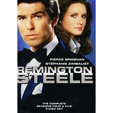 REMINGTON STEELE: The Complete Season Four & Five / 4 & 5 (5-Disc DVD Set) ~ NEW