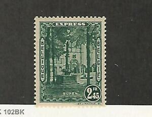 Belgium Postage Stamp E5 Mint Hinged 1931 Jfz Ebay