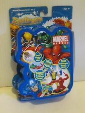 MARVEL COMIC  HEROES ZIZZLINGERS MINI GAME PIECES CHARACTER FIGURES SEALED DEAL3