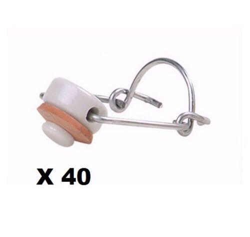 rondelles NEUF Bouchon mécanique X 40