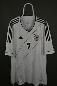 Germany Adidas 2011 - 2013 Home Football Shirt Jersey #7 Schweinsteiger 3XL XXXL