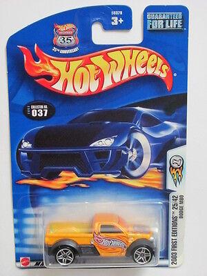 Modellbau Autos, Lkw & Busse Sporting Hot Wheels 2003 #037 Erste Ausgabe 25/42 Dodge M80 Weinrot Nadelstreifen Mit