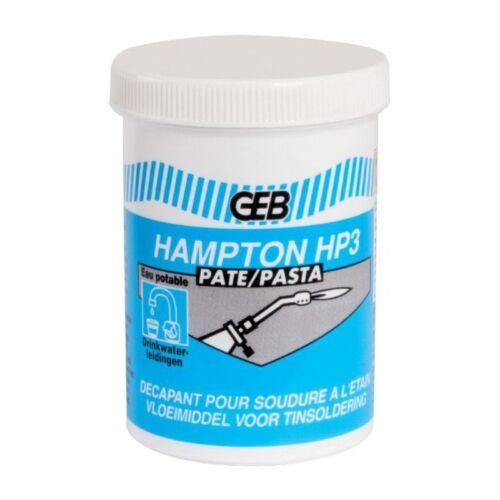 Pâte Hampton HP3 Décapant pour soudure étain VOIR TABLEAU CONTENANCE