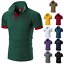 Men-039-s-Slim-Fit-Shirts-Short-Sleeve-Casual-Gol-T-Shirt-Jersey-Tops-Muscle-Tee thumbnail 3