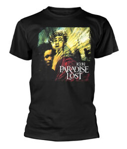 Paradise-Lost-039-Icon-Album-Cover-039-T-Shirt-NEW-amp-OFFICIAL
