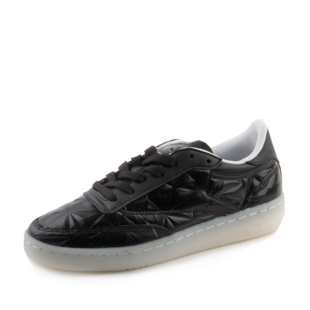 cc3cf675153 Reebok Womens Club C 85 Dynamic Chrome Black   White 10 for sale ...