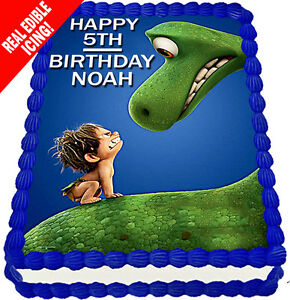 The Good Dinosaur Edible Cake Image Icing Personalised A4 Birthday