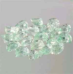 Ehrlichkeit Seltenes Lot Mintgrüner Beryll Tolle Farbe Mit 7,56 Karat Bequemes GefüHl