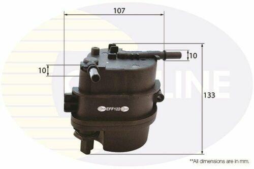 /> 08 elección 1//2 Diesel Jd Jh 68 Comline Filtro de Combustible para Ford Fiesta V 1.4 02