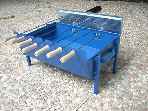 Image Is Loading Greek Cypriot Charcoal Outdoor Rotisserie Barbecue Bbq Grill
