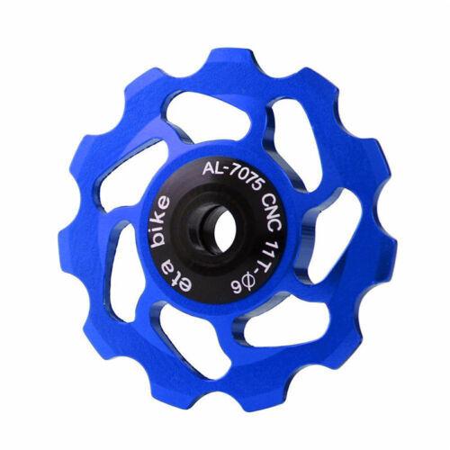 11 Tooth MTB Ceramic Bearing Jockey Wheel Pulley Road Bicycle Bike Derailleur SH