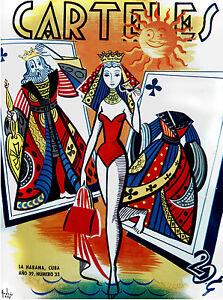 265-Poster-034-Queen-swimsuit-for-the-Beach-034-Poker-fun-gambling-interior-art-design