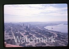Photo slide 35mm 1960s Ektachrome Seattle WA view from space needle #2
