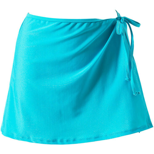 Scuba Womens Mix Match Plain Colour Swim Beach Skirt Wrap Cover Up Separates UK!