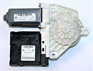 VW-Golf-MK5-Front-Left-Window-Motor-1K0959702K-amp-1K3837401Q-Module-1K0959792G