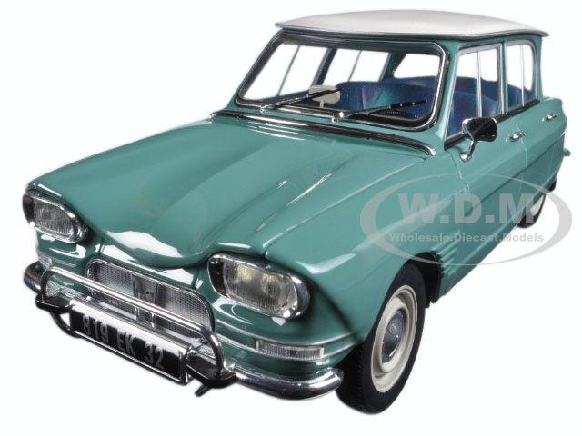 1964 CITROEN  AMI 6 vert jade 1 18 Diecast voiture modèle par NOREV 181536  exclusif