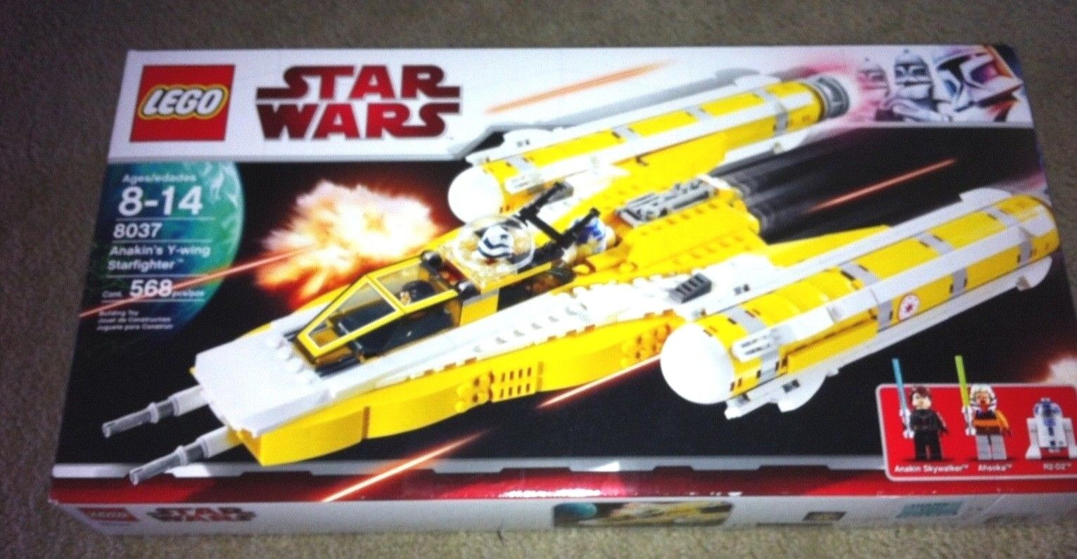Lego Star Wars The Clone Wars Anakin's Y-wing Starfighter (8037)