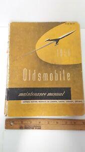 1956-OLDSMOBILE-Original-GM-Workshop-Manual-Good-Condition-CDN