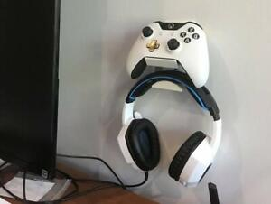 Microsoft-Xbox-One-Controller-amp-Headset-Holder-Combo-Bundle-Wall-Stand-Accessory